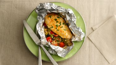 Honey-Sriracha Chicken Foil Packs