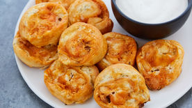 Buffalo Ranch Chicken Pinwheels