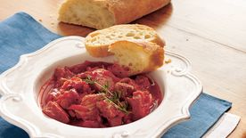 Slow-Cooker French Pork and Bean Casserole