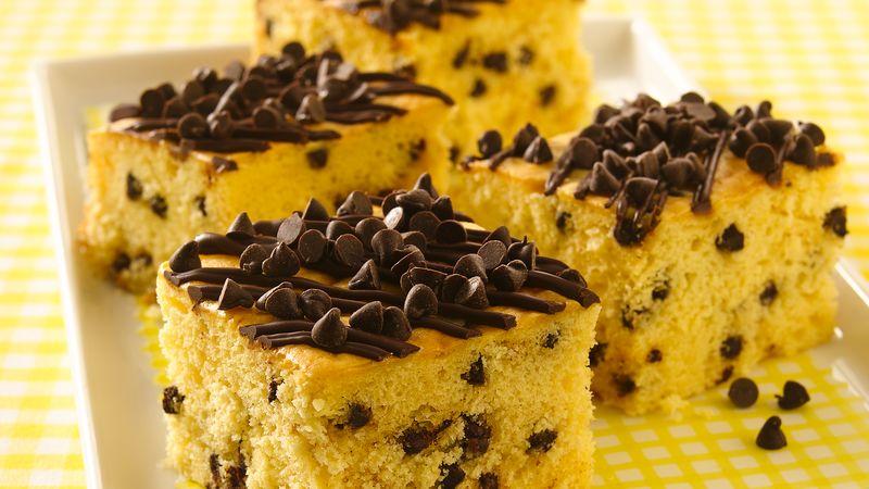 Yellow Cake Mix Chocolate Chips Sour Cream