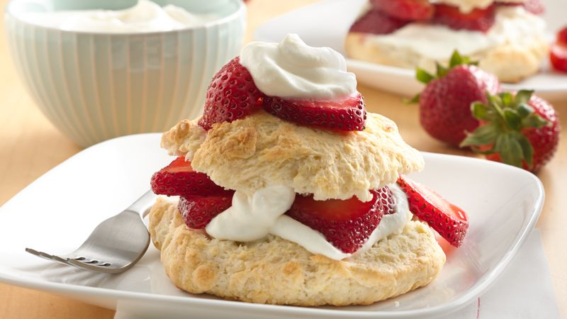 Bisquick Strawberry Shortcake Recipe Bettycrocker Com