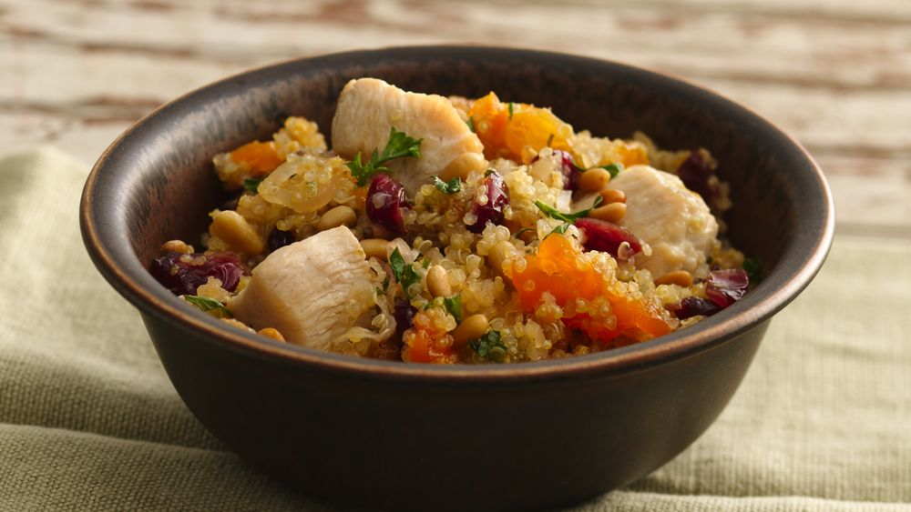 Jeweled Quinoa and Chicken