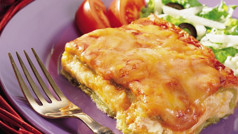 Chiles Rellenos Casserole Recipe Pillsbury Com