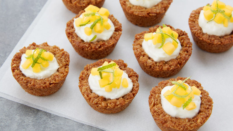 Honey-Mango Granola Cups