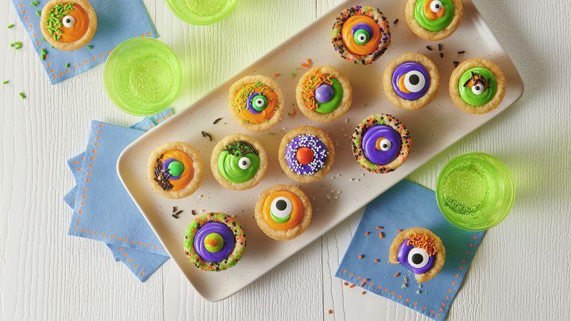 Halloween Eyeball Cookie Cups