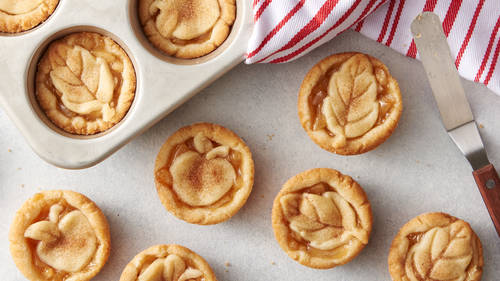 Easy Apple Pie Cookie Cups
