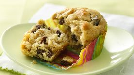 Banana Raisin Muffins