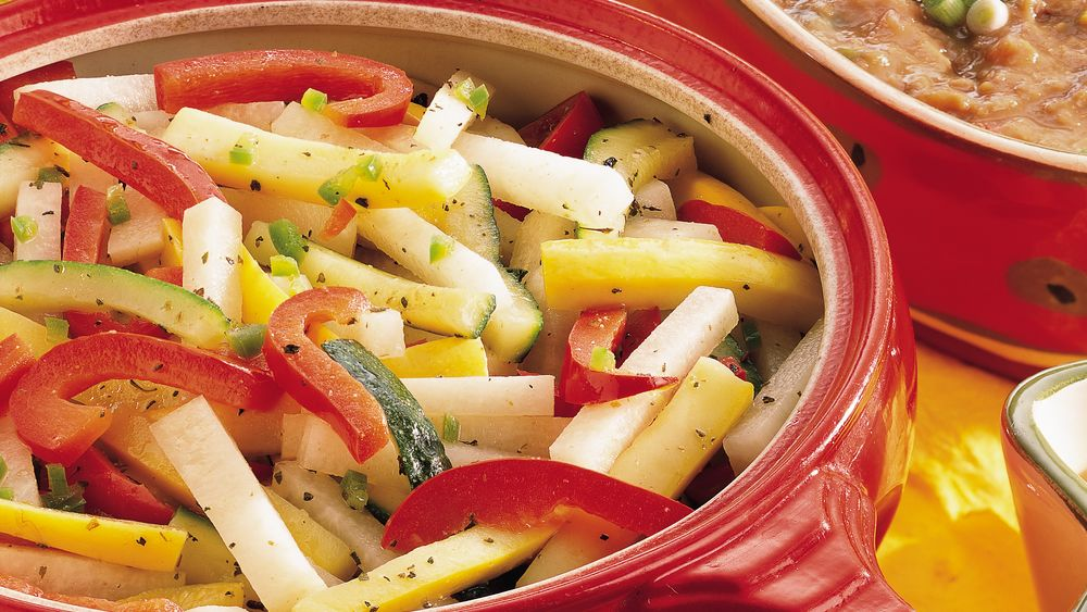 Mexican Stir-Fried Vegetables
