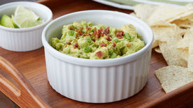 Easy Bacon Guacamole