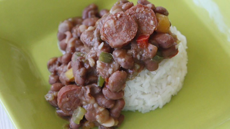Creole Style Rice and Beans