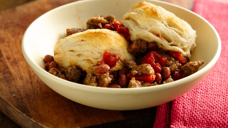 Grands!® Jr. Red Beans and Sausage Casserole