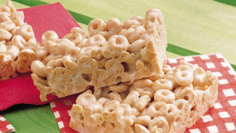 Barra de cereal Cheerios™ de malvaviscos libre de gluten