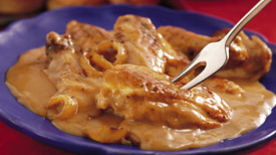 Lip Smackin' Smothered Chicken