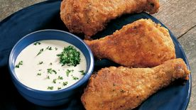 Oven-Fried Ranch Drumsticks