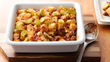 Bacon Cheeseburger Potato Casserole