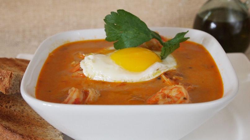 Sopa Criolla de Camarones