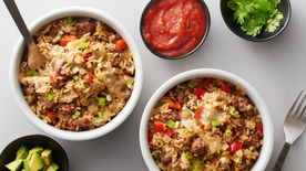 Tex-Mex Skillet Fried Rice