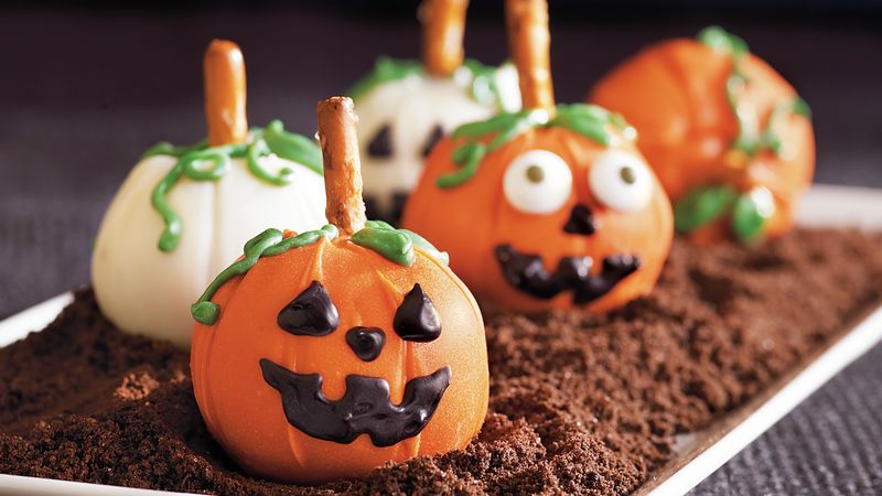 Pumpkin Patch Cookie Balls