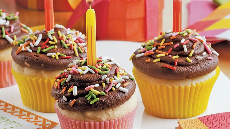 kids birthday cupcakes bettycrocker com