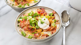 Loaded Slow-Cooker Potato Soup