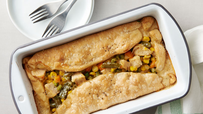 Loaf Pan Creamy Chicken Pot Pie