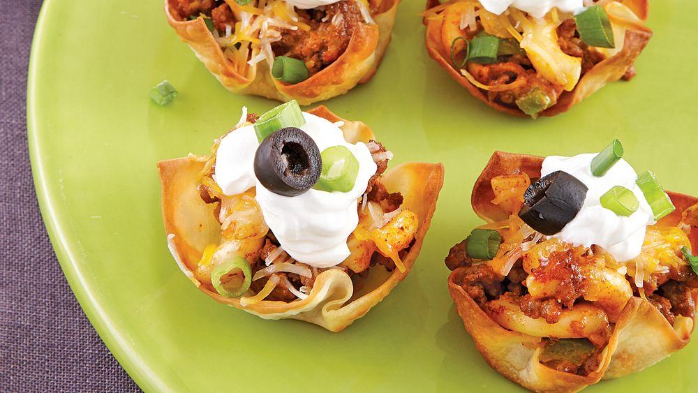 Taco Mac Cupcakes