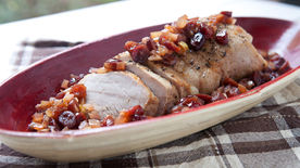 Slow-Cooker Cranberry Pork Roast