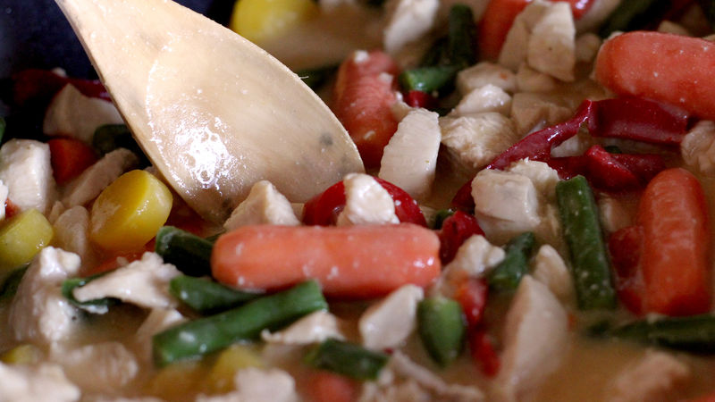 Chicken-Veggie Freezer Meal Mix