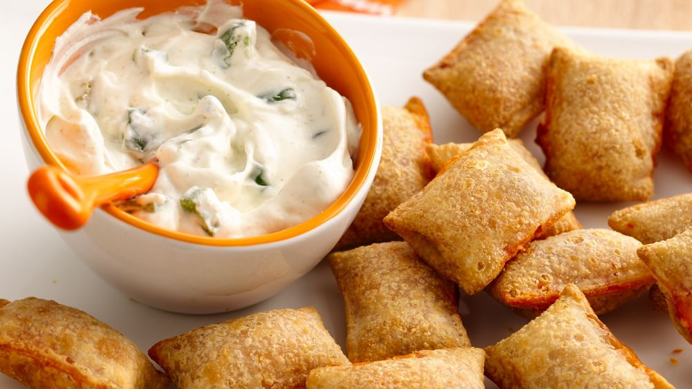Jalapeño Popper Dip and Pizza Rolls®