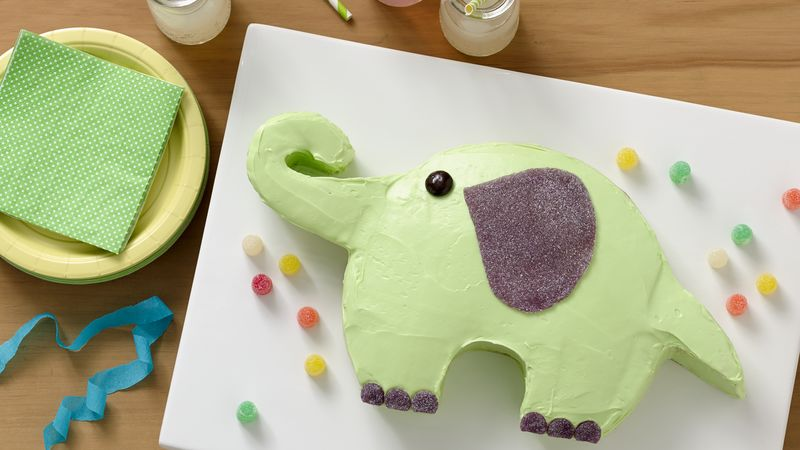 Elephant Cake Recipe BettyCrockercom