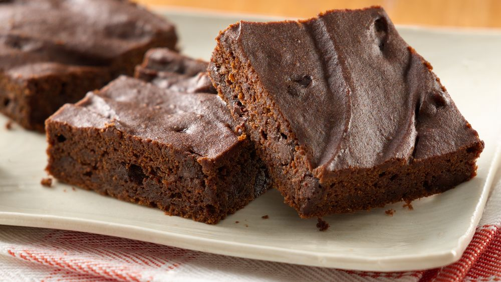Easy Double-Chocolate Brownies