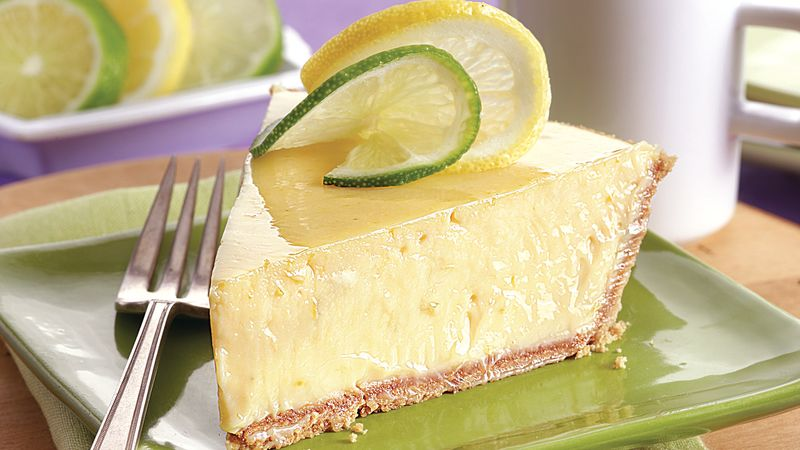 Lemon Lime Icebox Pie
