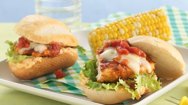 Fiesta Grilled Chicken Sandwiches with Chipotle Mayonnaise