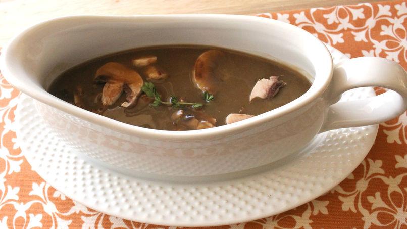 Porcini Mushroom Gravy