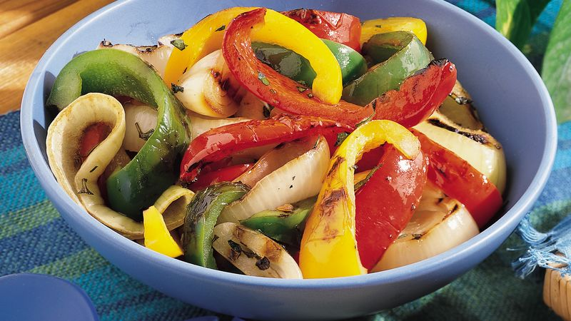 Grilled Mixed Peppers