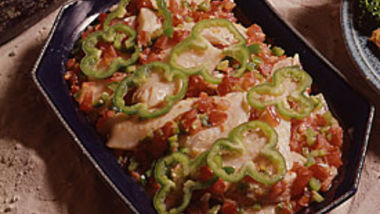 fruits and vegetables cajun oven fried trout recipe from betty crocker 30849