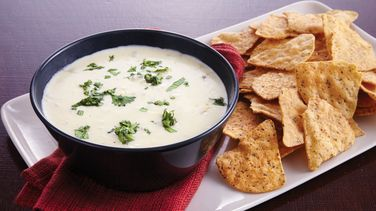 Slow-Cooker Green Chile Queso Dip