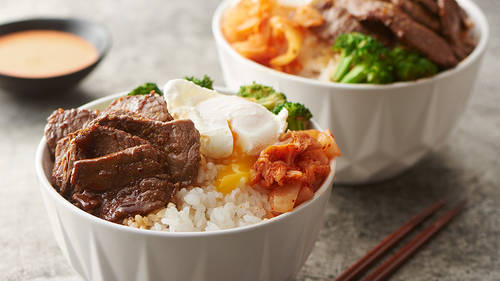 Korean Beef Yum Yum Bowls