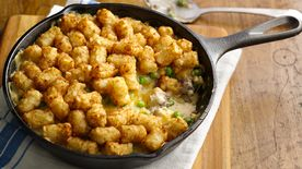 Cheesy Potato Nugget Skillet