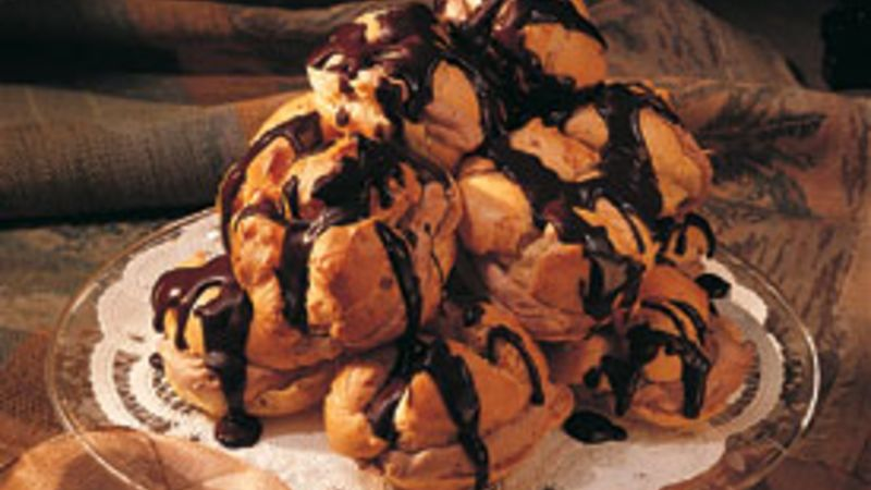 Orange-Chocolate Puffs