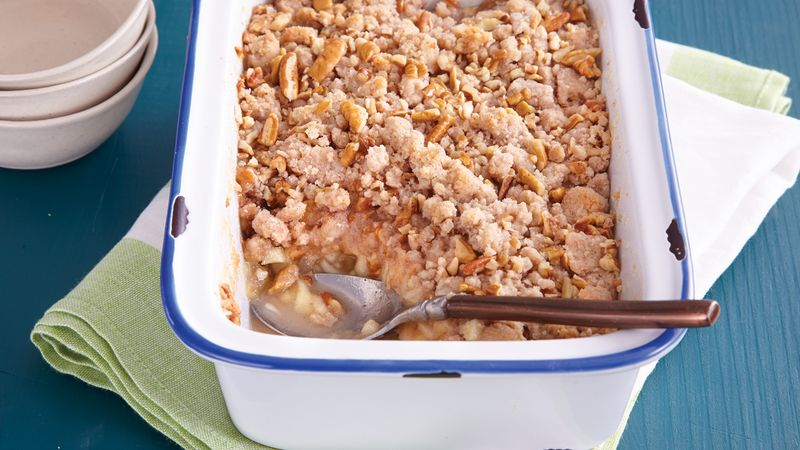 Apple-Pecan Crumble