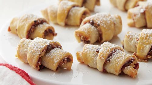 Chocolate-Raspberry Rugelach Cookies