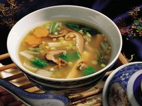 Tofu Hot And Sour Soup