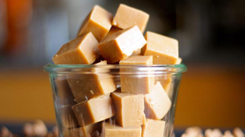 Fondant au caramel écossais