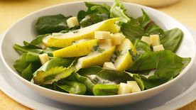 Pear Salad with Creamy Vinaigrette
