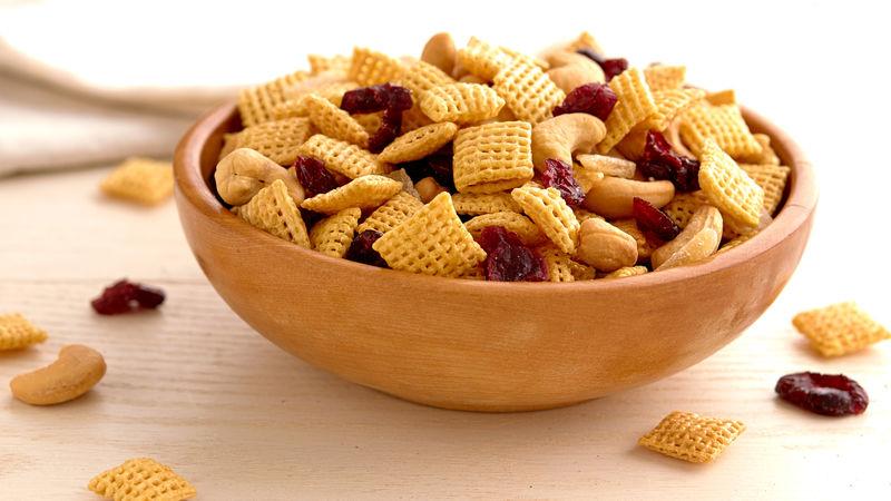 Gluten Free Honey Nut Chex Trail Mix