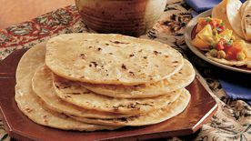 Whole Wheat Unleavened Breads (Rotis)