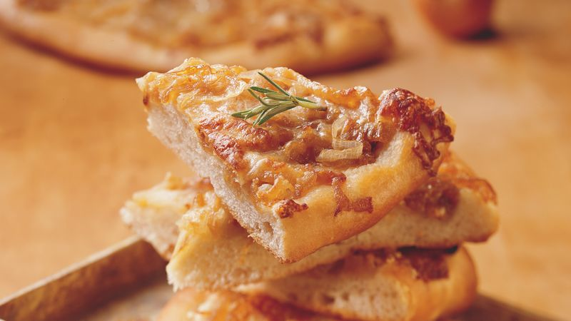Caramelized-Onion Focaccia