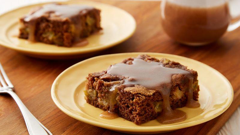 Apple Pudding Cake With Cinnamon Er Sauce