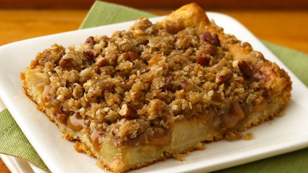 Caramel Apple Streusel Bars recipe from Pillsbury.com